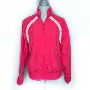 Nike Jacket Activewear Zip Up Windbreaker Dri-Fit